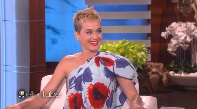 Katy Perry's hair disaster story