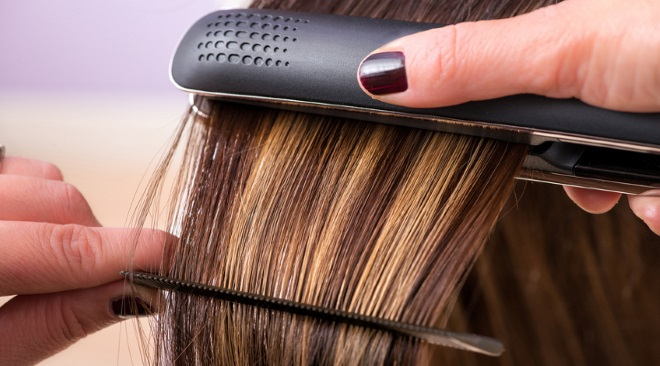 Hair straightening treatment