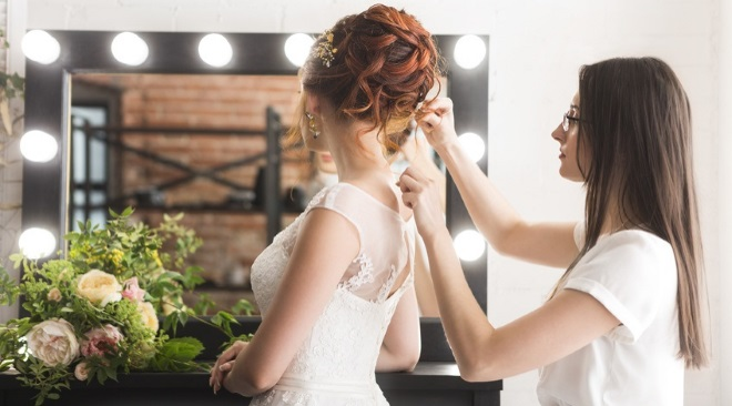Tips for picture-perfect wedding hair
