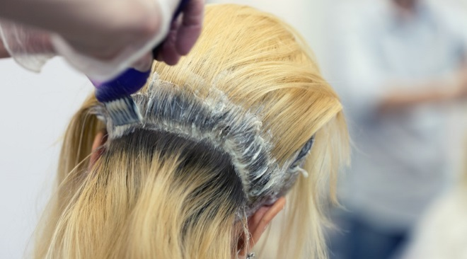 Bleaching procedure